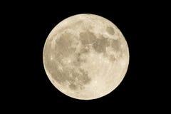 Pleine lune Photographie stock libre de droits