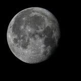 Pleine lune avec les détails pointus images libres de droits