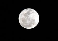 Pleine lune détaillée images libres de droits