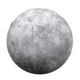 Pleine lune d'isolement Photographie stock libre de droits