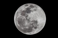 Pleine lune par l'intermédiaire de Len 2650mm photo libre de droits