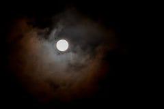 Pleine lune, une des phases du cycle lunaire Photos libres de droits