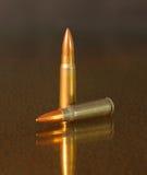 Pleine projectile de bronze de veste en métal Photo stock