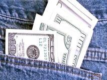 Pleines poches Image stock