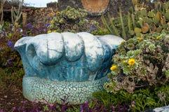 Pleinla Glorieta in Las Manchas, La Palma, Canarische Eilanden Royalty-vrije Stock Afbeelding