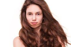 Pleins cheveux étonnants Image stock