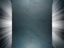 Pleister en Concrete textuur 3d presentatie Stock Fotografie