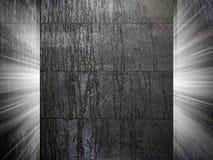 Pleister en Concrete textuur 3d presentatie Stock Foto