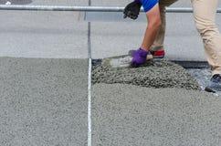Pleisterend beton. Stock Foto