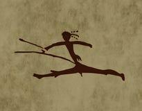 Plemienna łuczniczka royalty ilustracja