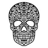 Plemienna czaszki głowa fotografia stock