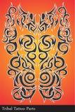 Plemienne tatuaż części Obraz Royalty Free