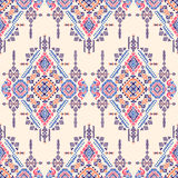 Plemiennego azteka rocznika bezszwowy wzór Fotografia Royalty Free