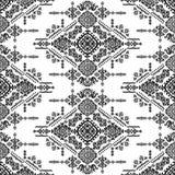 Plemiennego azteka rocznika bezszwowy wzór Fotografia Stock