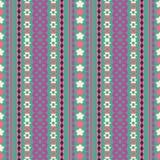 Plemiennej tekstury geometryczny bezszwowy wzór ilustracji
