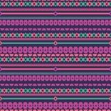 Plemiennej tekstury geometryczny bezszwowy wzór ilustracja wektor