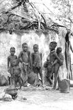Plemienni dzieci fotografia stock