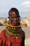 Plemienni ludzie od Afryka, Kenja Zdjęcia Stock