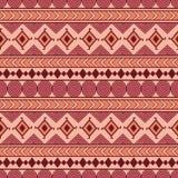 Plemienny bezszwowy wektoru wzór Etniczny abstrakcjonistyczny geometryczny backgr Zdjęcie Stock