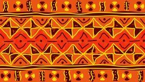 Plemienny bezszwowy wzór Obraz Royalty Free