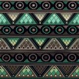 Plemienny bezszwowy wzór Obraz Stock