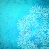 Plemienny kwiatu tło Obrazy Stock