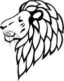 plemienny lwa tatuaż Fotografia Royalty Free