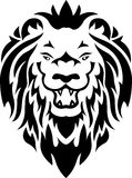 plemienny lwa tatuaż Zdjęcia Royalty Free