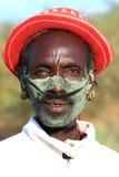 Plemienny mężczyzna liczba 2 fotografia stock