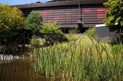 Plemienny muzeum sztuki Quai Branly w Paryż Zdjęcie Stock