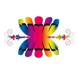 Plemienny symbol Obraz Royalty Free