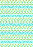 Plemienny trójboka wzoru tło 01 Obrazy Royalty Free