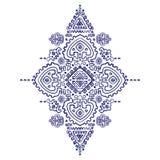 Plemienny wektorowy etniczny meksykanin, Afrykański ornament Obraz Stock