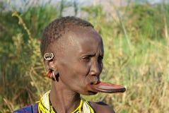 Plemiona Omo dolina w Etiopia Fotografia Stock