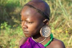 Plemiona Omo dolina w Etiopia Zdjęcia Stock