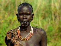 Plemiona Omo dolina w Etiopia Obrazy Royalty Free