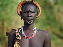 Plemiona Omo dolina w Etiopia Zdjęcie Stock