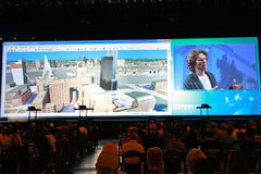 Plenary at the ESRI User Conference 2010 Stock Photo