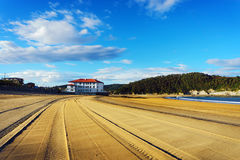 Plencia και Gorliz παραλία Στοκ φωτογραφία με δικαίωμα ελεύθερης χρήσης