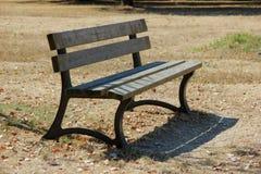 Plenerowa ławka Fotografia Stock