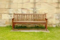 Plenerowa ławka Obraz Royalty Free