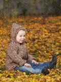 Plenerowa chłopiec Zdjęcia Stock