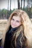 plenerowa piękna dziewczyna zdjęcia stock