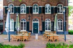 plenerowa restauracji Zdjęcie Royalty Free