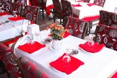 plenerowa restauracji Zdjęcia Royalty Free
