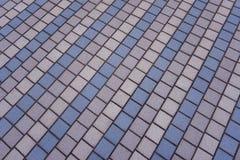 Plenerowe barwić podłogowe płytki zdjęcie royalty free