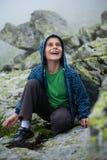 plenerowe dzieciak śliczne góry zdjęcia royalty free