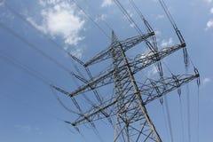 Plenerowe linie energetyczne Obraz Stock