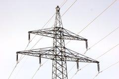 Plenerowe linie energetyczne Zdjęcie Royalty Free