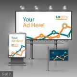 Plenerowej reklamy projekt Zdjęcie Stock